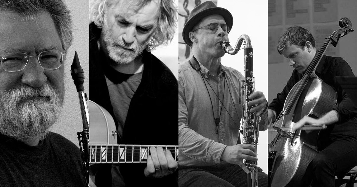 Evan Parker, Joe Morris, Ned Rothenberg, Alex Waterman