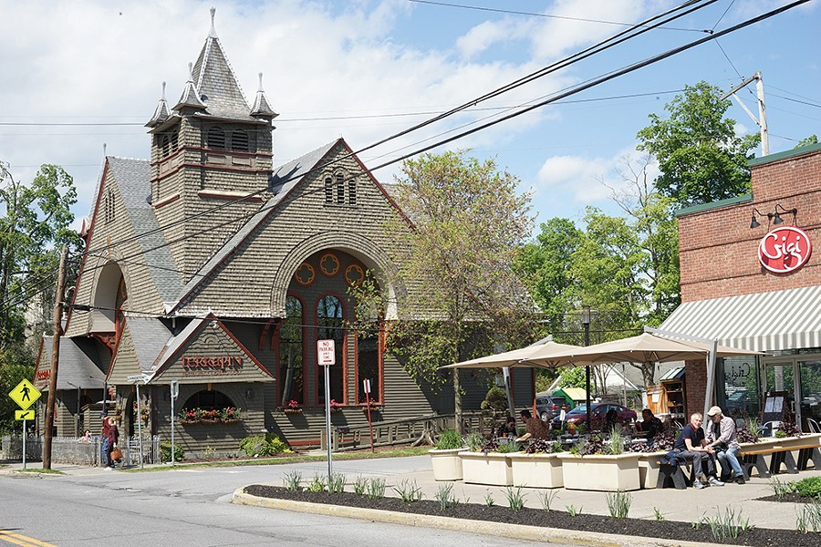 Culinary mainstays of Rhinebeck, Terrapin and Gigi Trattoria. - PHOTO: JOHN GARAY