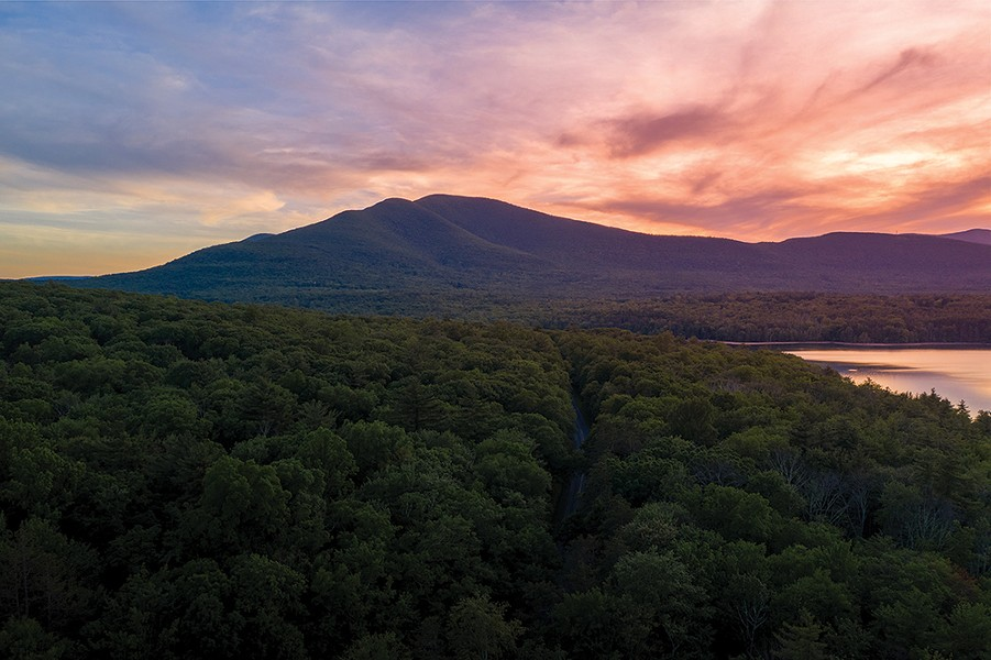 A view of the Catskills. - PHOTO: IAN POLEY PHOTOGRAPHY