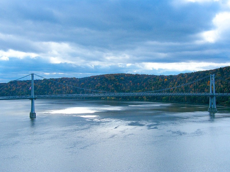 Hudson River Bridge - PHOTO BY STANLEY ZIMNY