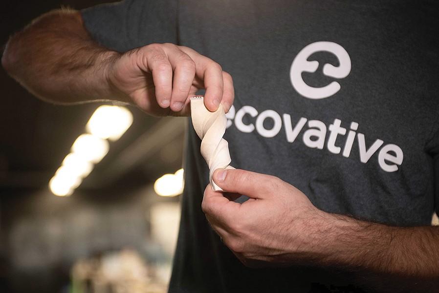 MycoFlex technology creates a multi-use mycelium foam.