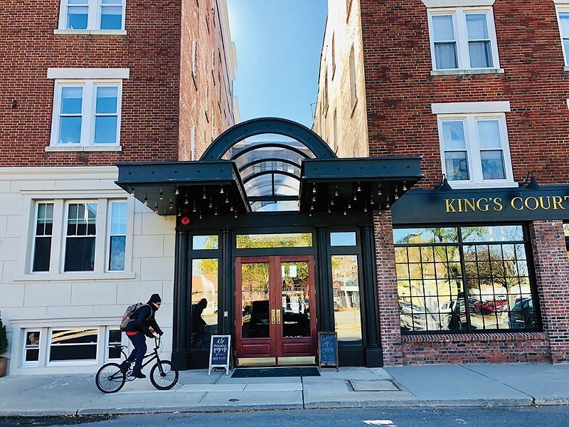 40 Cannon Street complex, formerly the - site of King's Court Hotel, in Poughkeepsie. - PHOTO: PAUL HESSE