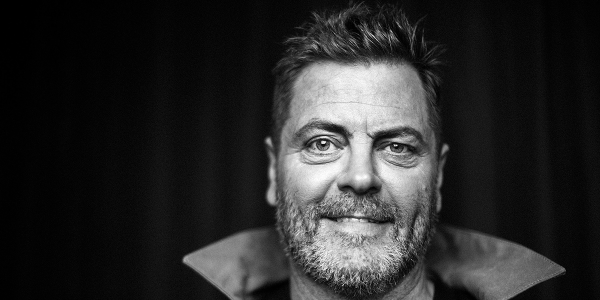Nick Offerman. Photo courtesy of Palace Theatre.