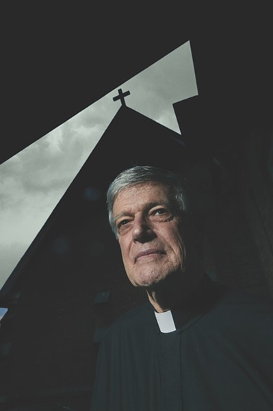 Father Frank Alagna of Holy Cross/Santa Cruz Episcopal Church in Kingston is the cofounder of the Ulster Immigrant Defense Network. - DAVID MCINTYRE