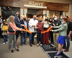 Grand Opening Photo of Allan's Mediterranean Bar & Grill in Middletown