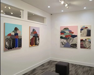 """And So It Goes: """"One Thing Leads to Another"""" at the Lockwood Gallery"""