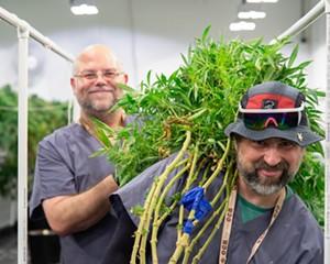 "Greg ""Chemdog"" Krzanowski (left) gets help during harvest time."