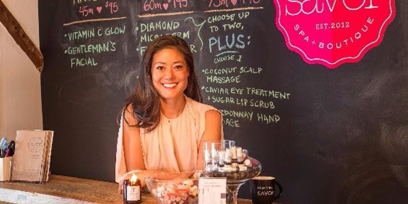 Savor Spa owner Angela Jia Kim