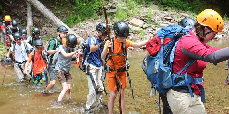 A New Survival Academy Summer Camp at Frost Valley YMCA