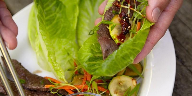 Recipe: BBQ Beef and Kimchi