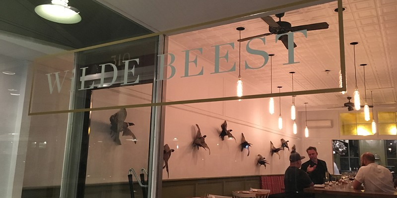 Sneak Preview: Dinner at Wilde Beest