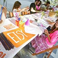 Chronogram Block Party 2015 The fabulous crafts at the Etsy block Saundi Wilson