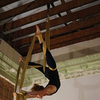 Capital Of Culture: Kingston Alisha Mai McNamara at Hudson Valley Circus Arts. John Garay