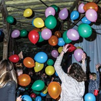 Birthday Party 2018 The ballon drop was a big hit.