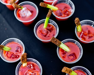 Cherry (Tomato) on Top: Bloody Mary Festival Comes to the Hudson Valley