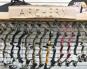 A selection of bows at Kenco