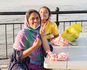 On the Cover: Photograph of Abida Begum and Noshin Tasnim on the Hudson waterfront by Angelina Dreem   September 2020
