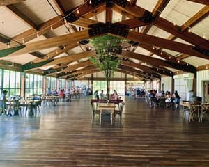 Red Maple Vineyard's reception pavilion-turned-restaurant