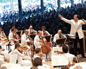 Andris Nelsons leads the Boston Symphony Orchestra at Tanglewood.