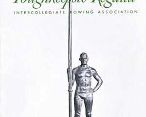 Cover of the Poughkeepsie Regatta program from 1949.