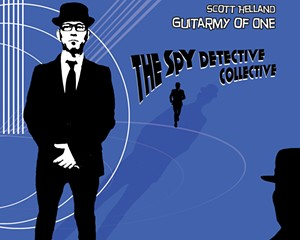 Album Review: Scott Helland Guitarmy of One   Spy Detective Collective