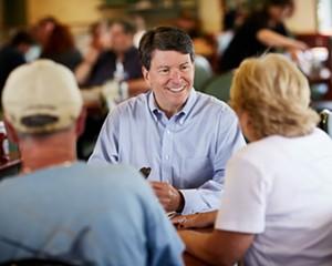 First-term incumbent Republican John Faso has a tough race ahead of him