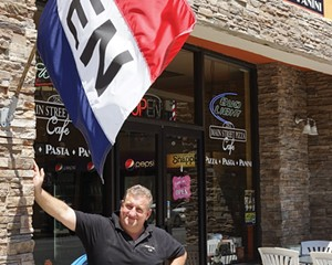 Domenick Diecidue, owner, Main Street Pizza and Cafe.