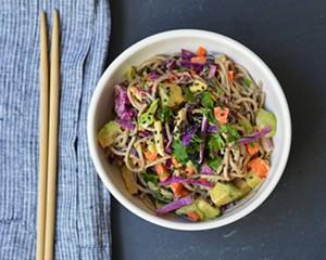 Recipe: Sesame Soba Salad with Avocado