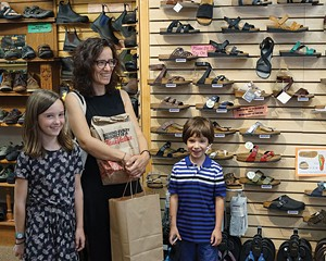 Hannah, Marianne, and Emile at Pegasus in Woodstock.