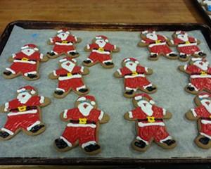 Gingerbread Santas