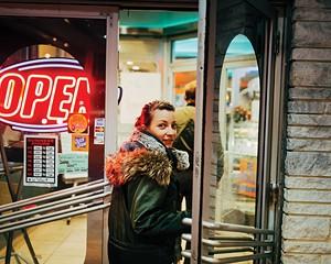 Alecia Eberhardt-Smith at Broadway Diner in Kingston.