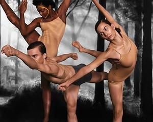 "Taylor Boyland, Mac Twining, and Tess Montoya in Stephen Petronio Company's ""American Landscapes"""