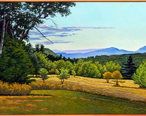 """""""Landscapes and Figures"""": A Solo Exhibit by Ralph Moseley At Lockwood Gallery"""