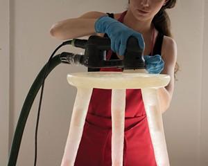 Furniture designer and maker Kim Markel.