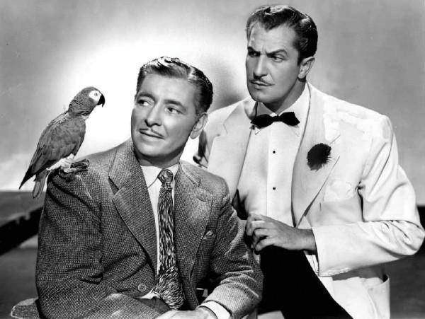 Ronald Coleman and Vincent Price in Champage for Caesar, part of Shadlowland Stages Classic Cinema series, which runs March 6-27.
