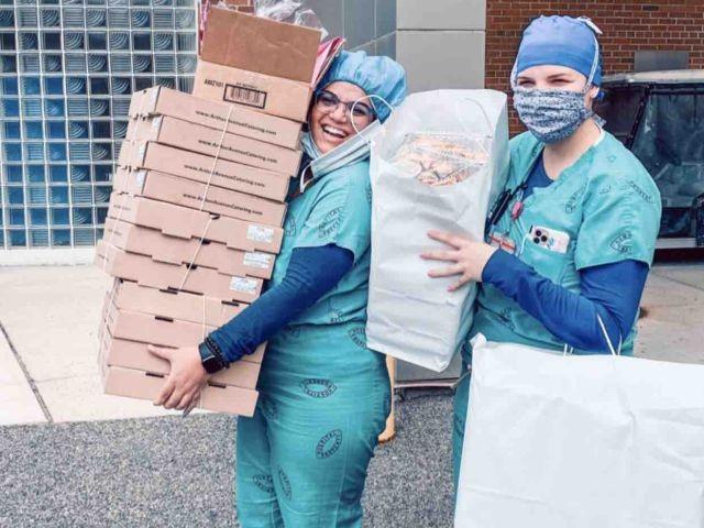 COURTESY OF THE PLEASANTVILLE HOSPITALITY FOR HOSPITALS GOFUNDME