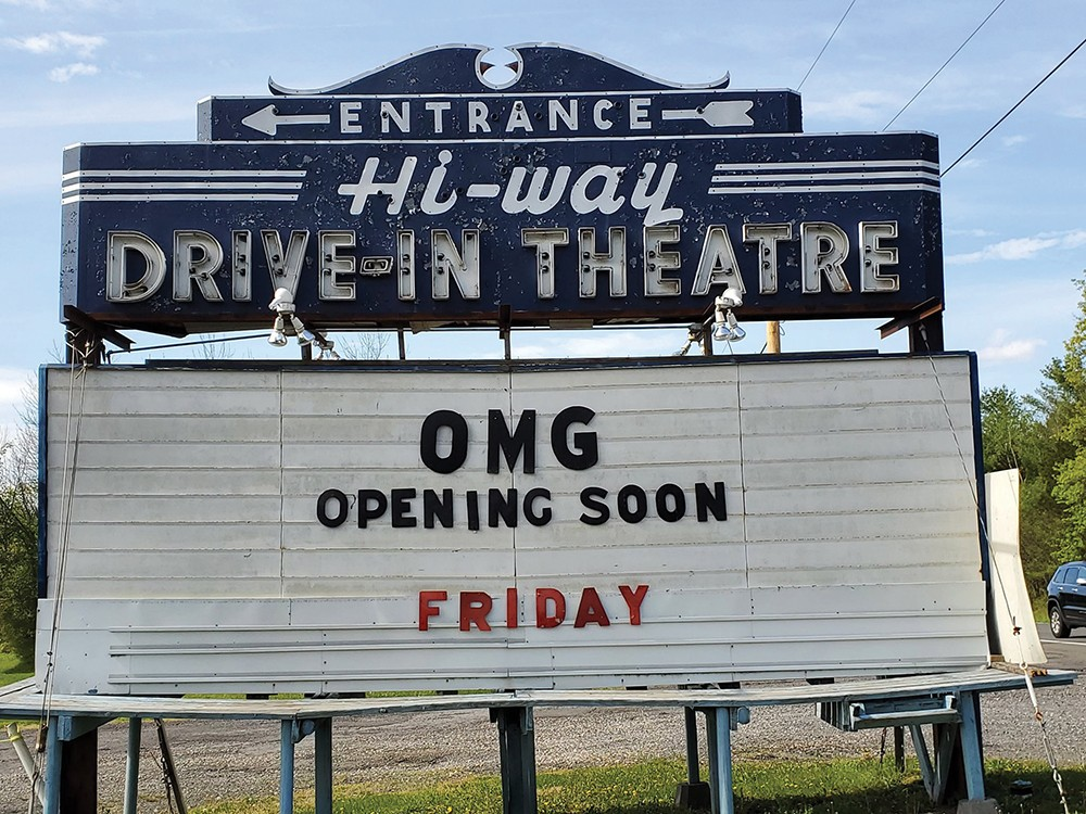 Drive In Theaters Are The First Hudson Valley Entertainment Venues To Reopen Film Hudson Valley Chronogram Magazine