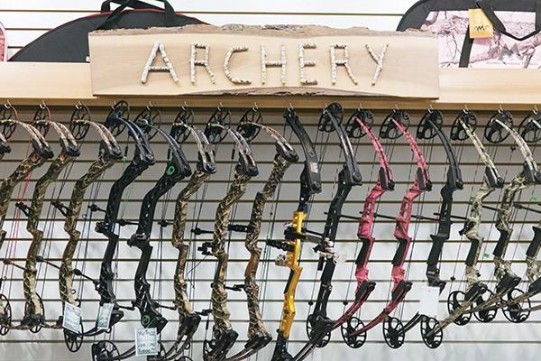 A selection of bows at Kenco - THOMAS SMITH