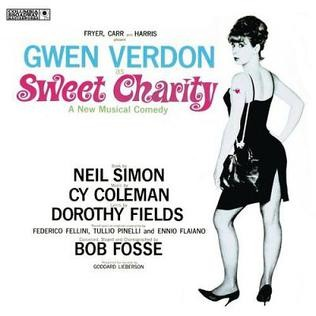 Cover art of the 1966 soundtrack album of Sweet Charity