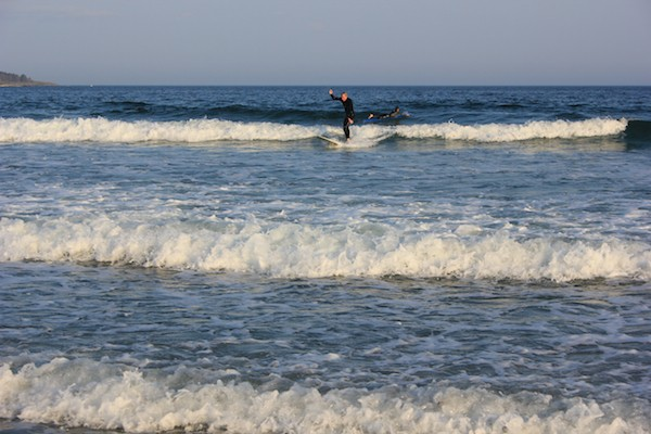 Even when the waves are small, riding them takes skill and awareness. - AMANDA PAINTER