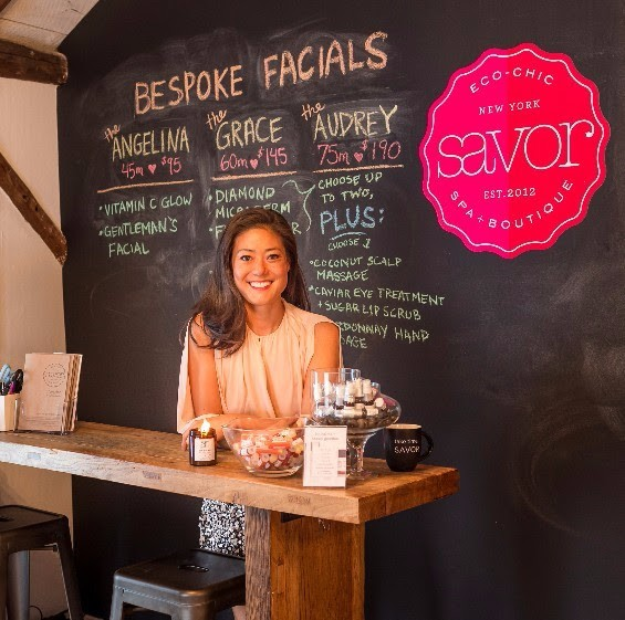 Savor Spa owner Angela Jia Kim
