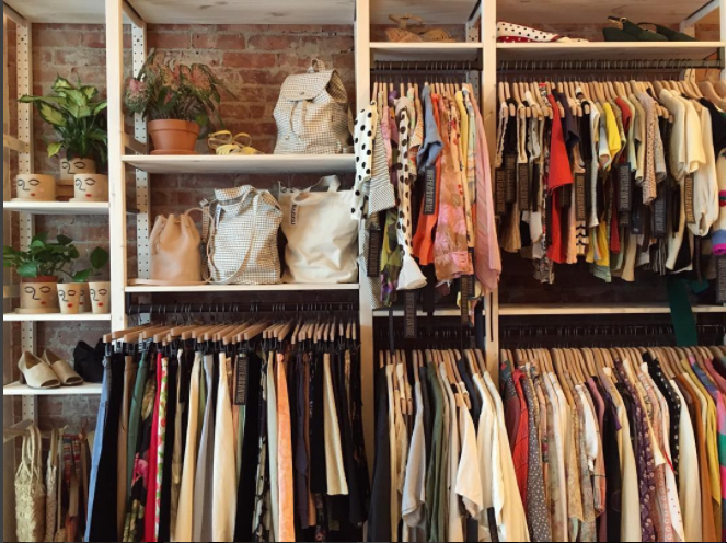 Lovefield Vintage clothing boutique in Uptown Kingston.