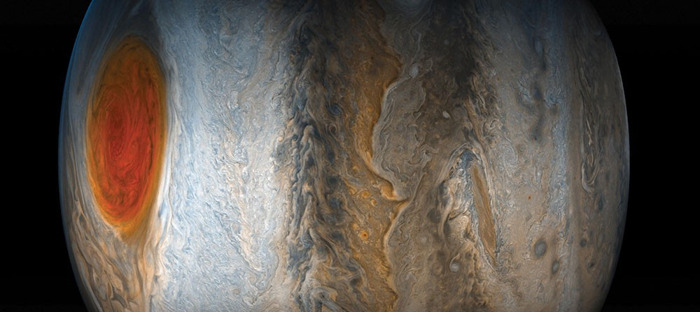 Picture of Jupiter taken July 10 from the Juno spacecraft.