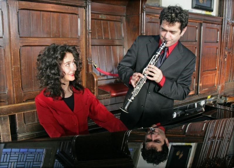 The Merlin and Polina Shepherd Klezmer Duo