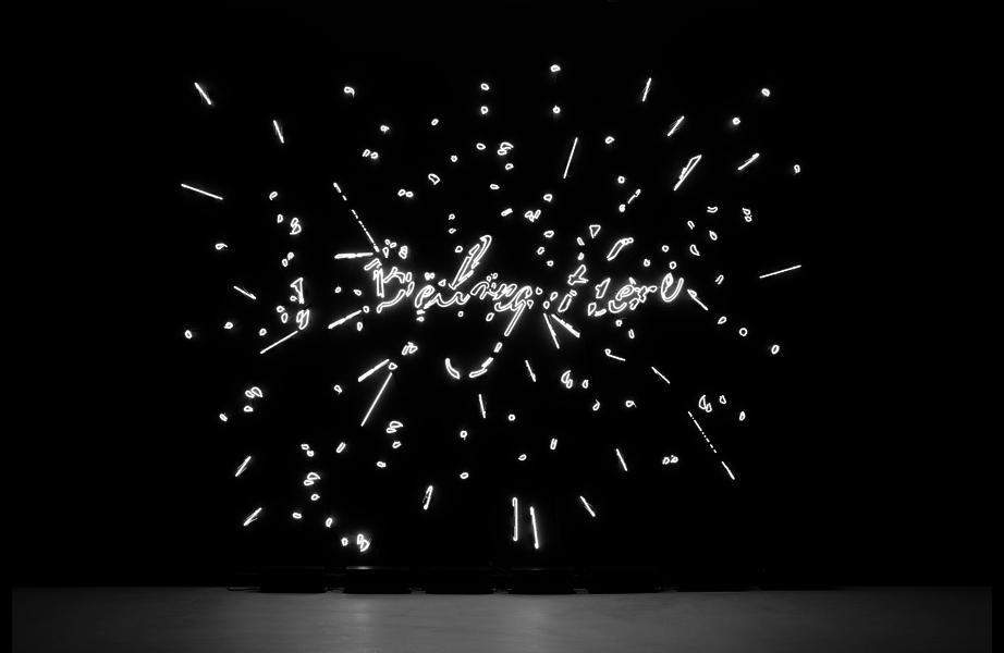 Custom neon work: Tavares Strachan: I Belong Here (Exploded), 2011