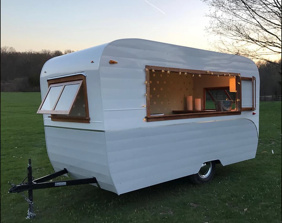 studio transforms retro caravan mobile office
