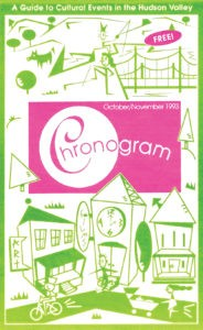 The first issue of Chronogram, 1993.