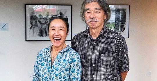 Youko Yamamoto and Kazuma Oshita