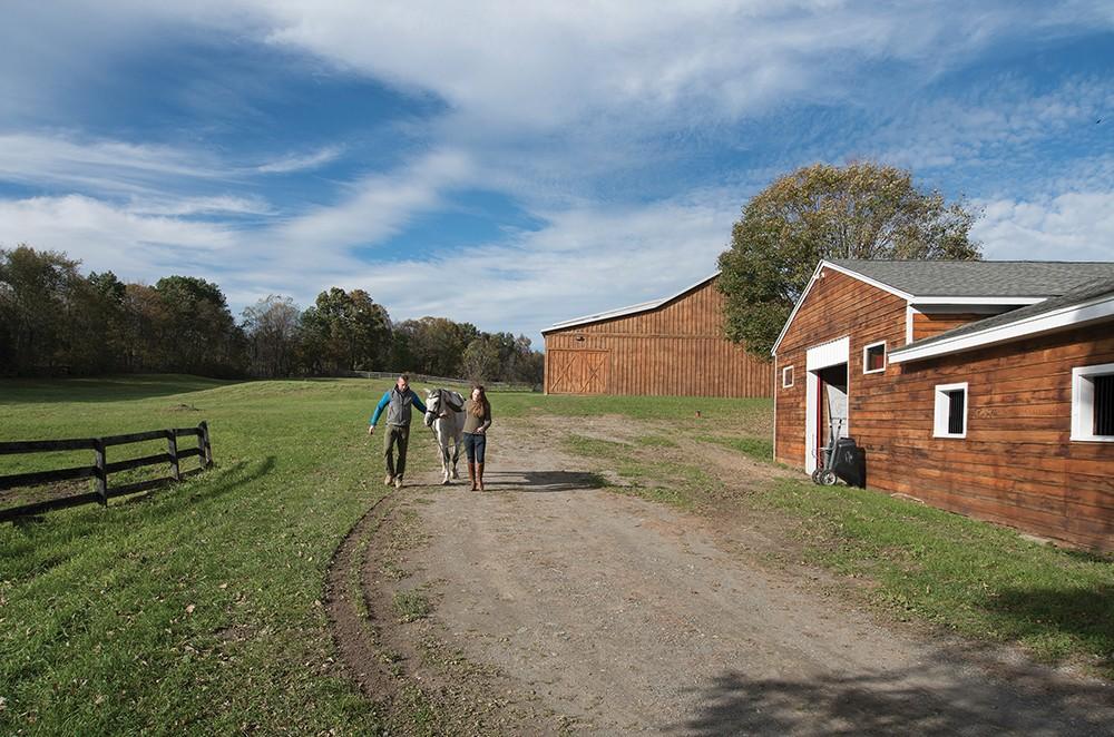 An 18th Century Farmhouse Amp Equestrian Center In Clinton
