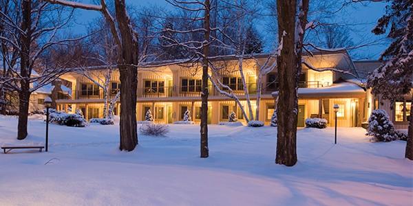 Winwood in winter.